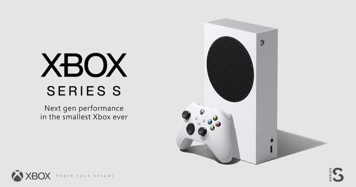瘦身版新型xbox「xbox-series-s」正式發表!