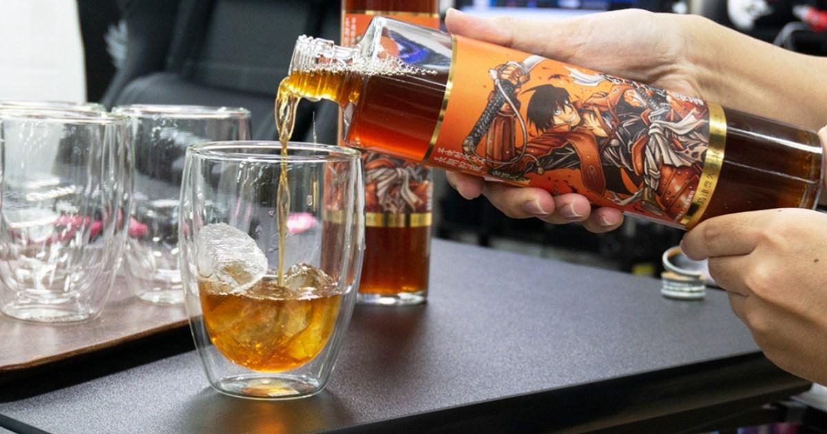 《漂流武士》聯名酒開箱試喝!《金山蔵梅酒-長期貯蔵-ドリフターズコラボ》試喝心得!