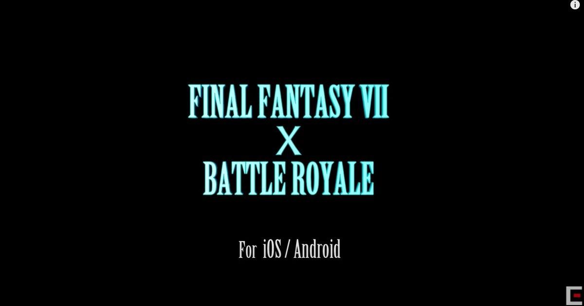 在米德加進行大逃殺!?「final-fantasy-vii-the-first-soldier」預計於2021年推出!