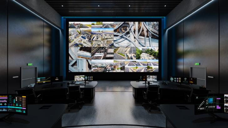 三星2021虛擬體驗展聚焦數位看板-大陣仗展示中控室創新技術