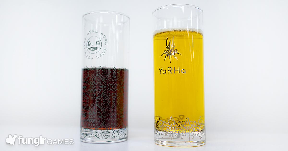 【開箱】這做工也太精美!「尼爾:人工生命-ver1.22474487139…」與「尼爾:自動人形」原創玻璃杯